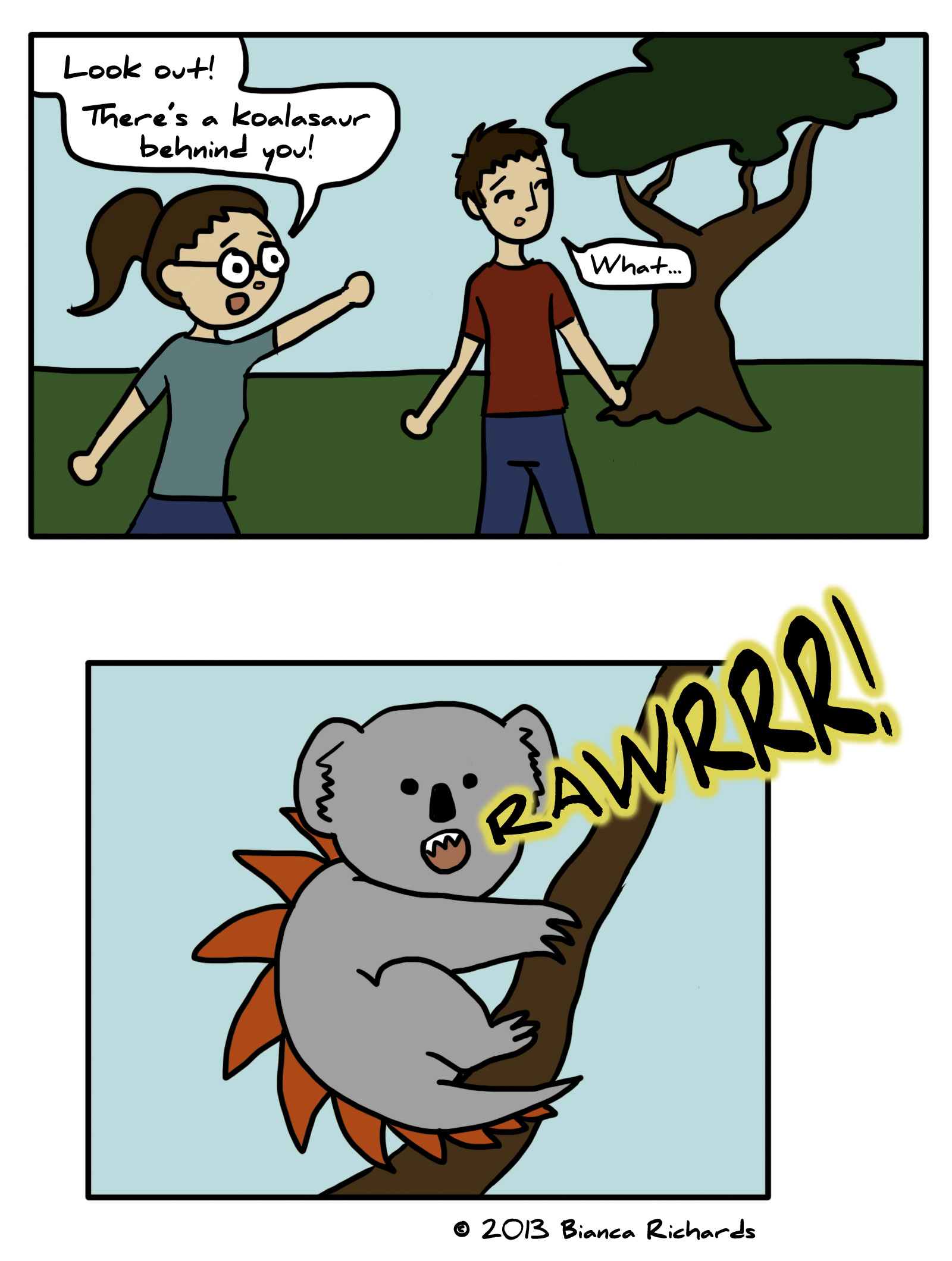 Koalasaur!