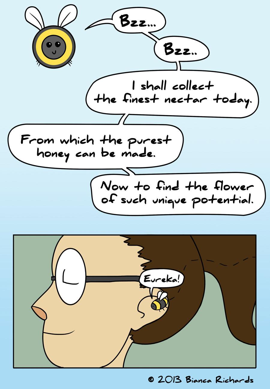 The Rare Flower
